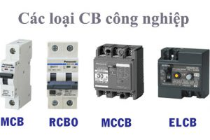 Các ký hiệu viết tắt trên CB và phân biệt các loại thiết bị đóng cắt